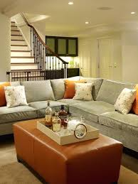 living spaces sectional sofas cozy sectional sofa chic blue gray tobacco basement living space