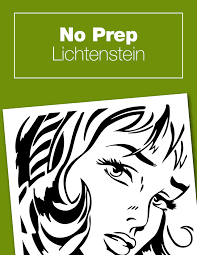 no prep lichtenstein project roy lichtenstein unit studies and