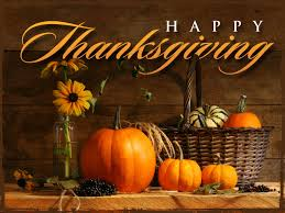 in observance of thanksgiving we will be closed on november 24th