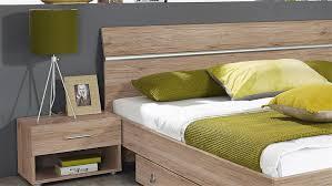 Schlafzimmer Bett 160x200 Fellbach Bett Nako San Remo Eiche Hell 160x200