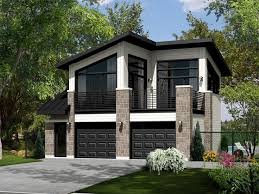 housing floor plans modern carriage house plans modern carriage house plan 072g 0034 at