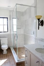 Glass Showers For Small Bathrooms Make A Room Look Bigger With Glass Frameless Glass Shower