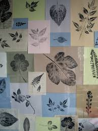 decorating ideas outstanding autumn leaf printing on paper as
