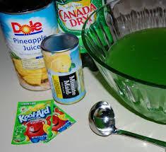 green punch cooking mamas