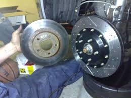 nissan gtr brake rotors nissan altima ap racing brakes install big stopping power youtube