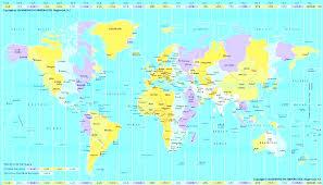 Flat Map Of World by Flat World Map With Longitude And Latitude Heavenly Mathematics