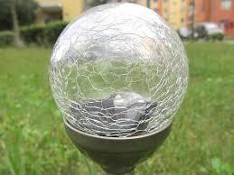 Ball Solar Lights - solar lights round ball garden light lawn lamp led outdoor