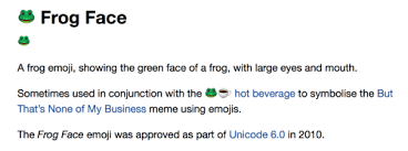 Meme Face Meanings - emoji blog what does the frog and teacup emoji