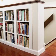wall shelves design great built in knee wall shelves knee wall