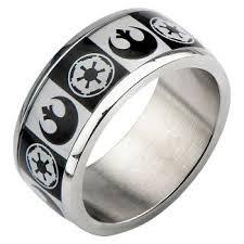 Star Wars Wedding Rings by Star Wars Rings Target