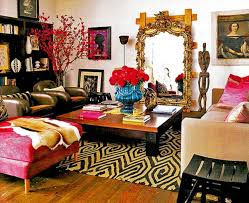 bohemian chic furniture painted coffee table ideas bohemian style