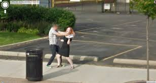 Ohio Google Maps by Google Street View Captures Another Strangling In Process Google