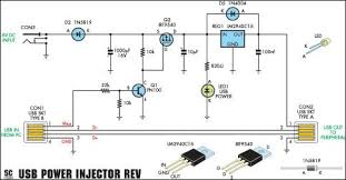 usb power injector for external hard drives pn100 circuit diagram