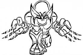 image wolverine coloring pages free flying thor