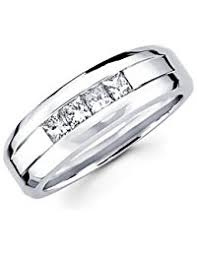 mens white gold wedding rings mens wedding rings