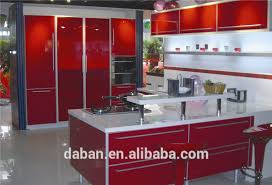 jisheng hig gloss laminate kitchen cabinet carcasses corner