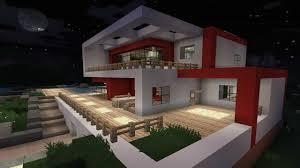 Minecraft Wohnzimmer Modern 4 Erstaunlich Moderne Minecraft Häuser Auf Deko Idee Modern House