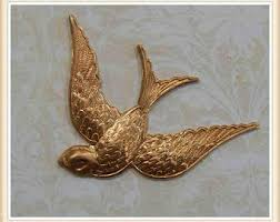 sparrow ornament etsy