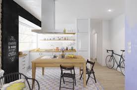 decorating ideas minimalist scandinavian kitchen open shelving