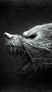 1080 x 1920 halloween background scary werewolf halloween best htc one wallpapers free and easy