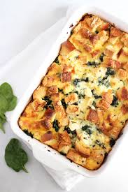 thyme u0026 toast spinach and feta strata