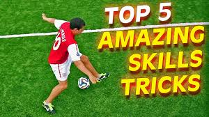 top 5 insane football soccer skills to learn tutorial youtube