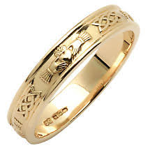 Claddagh Wedding Ring by Irish Wedding Ring Men U0027s Wide Corrib Claddagh Wedding Band At
