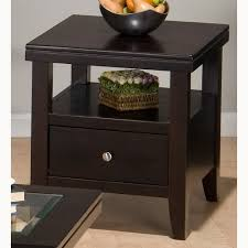 square storage end tables for living room good idea wood storage