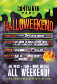 upcoming event halloweekend at downtown container park