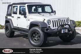vehicles comparable to jeep wrangler used jeep wrangler for sale in ca edmunds
