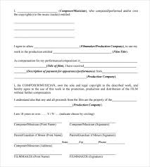 sample music release form 10 download free documents in