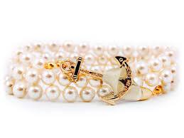 anchor wrap bracelet images Swan lake pearl anchor wrap bracelet by kiel james patrick prep jpg