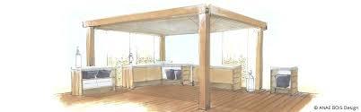cuisine exterieure moderne meuble cuisine exterieure bois cuisine exterieur bois conception
