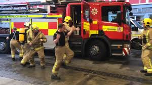 scottish fire and rescue service ayr firefighters take on