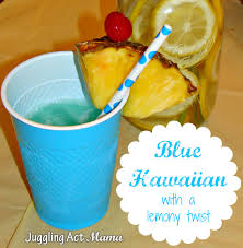 blue hawaiian cocktail blue hawaiian with a lemony twist juggling act mama