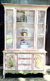 french country china cabinet for sale french country painted hutch china cabinet painted vintage cabinet