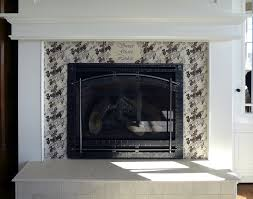fireplace glass door fleshroxon decoration