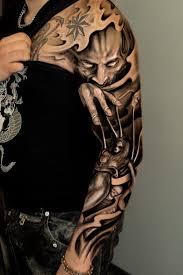 And Demons Sleeve Tattoos Joker Ink Sleeve Jpg Hosted At Jpeghost