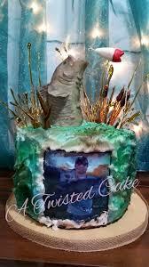 bass fish cake big bass fishing a twisted cake