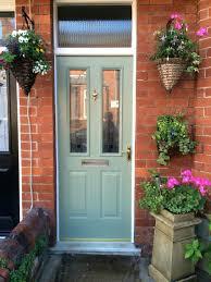 front door colors brown house orange olive green paint dark dark
