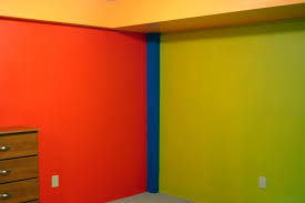 interesting color for kids room with yellow wall paint on the