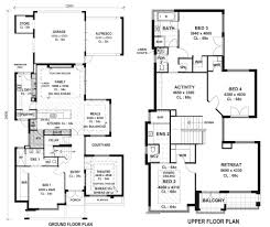 modern houses floor plans modern home designs floor plan endearing inspiration ideas