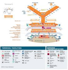 Miami International Airport Terminal Map by O Hare Terminal 2 Map Map Of O Hare Terminal 2 United States Of