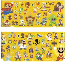 mario wrapping paper 067 mario maker nintendo wire