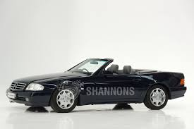 convertible mercedes black sold mercedes benz sl500 convertible auctions lot 54 shannons