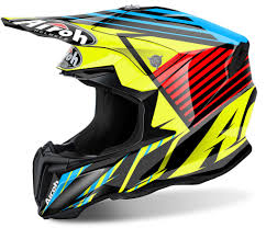 yellow motocross helmet airoh twist strange motocross helmet buy cheap fc moto