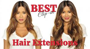 hair extensions reviews best clip in hair extensions downie