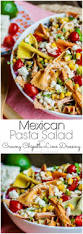 Pasta Salad Recipe Mayo by Mexican Pasta Salad With Creamy Chipotle Lime Dressing Home