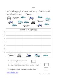 kidz worksheets second grade bar graph worksheet3