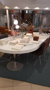 White Lacquer Dining Table by Ligne Roset Craft Dining Table White Lacquer D1300 X H740